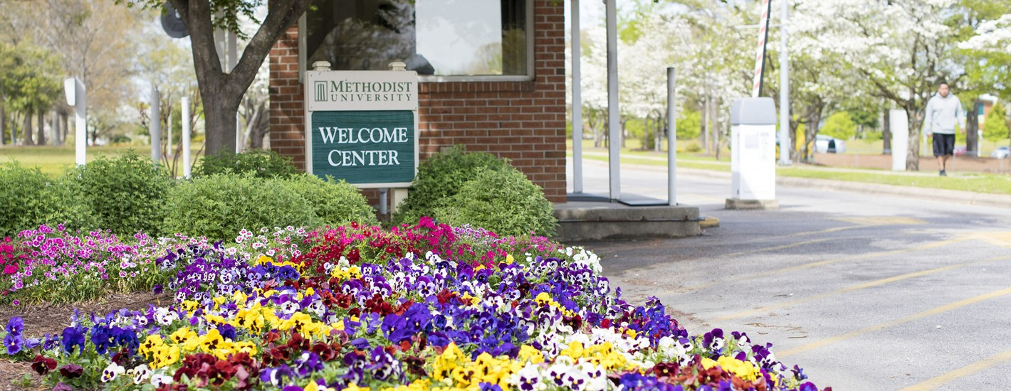 Methodist University's Welcome Center