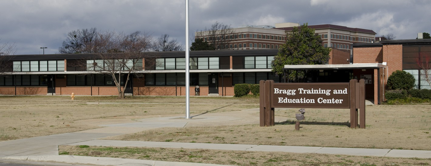 Bragg Training & Education Center, the Home of the Methodist Univeristy Fort Bragg Campus