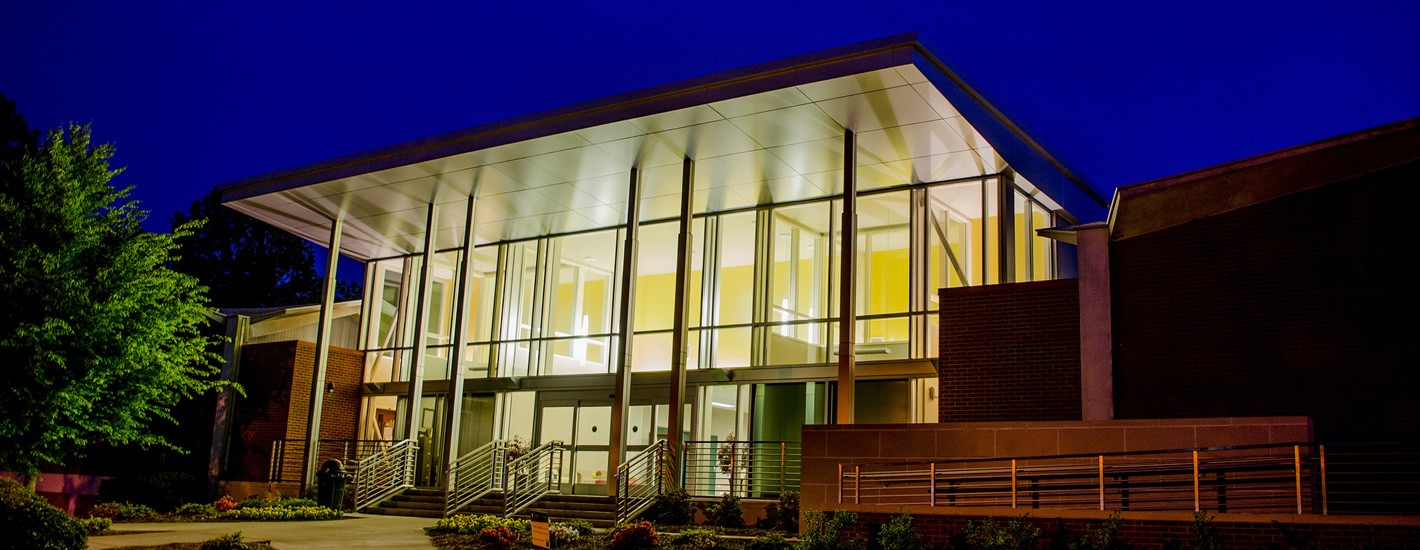 The Trustees Building at Night