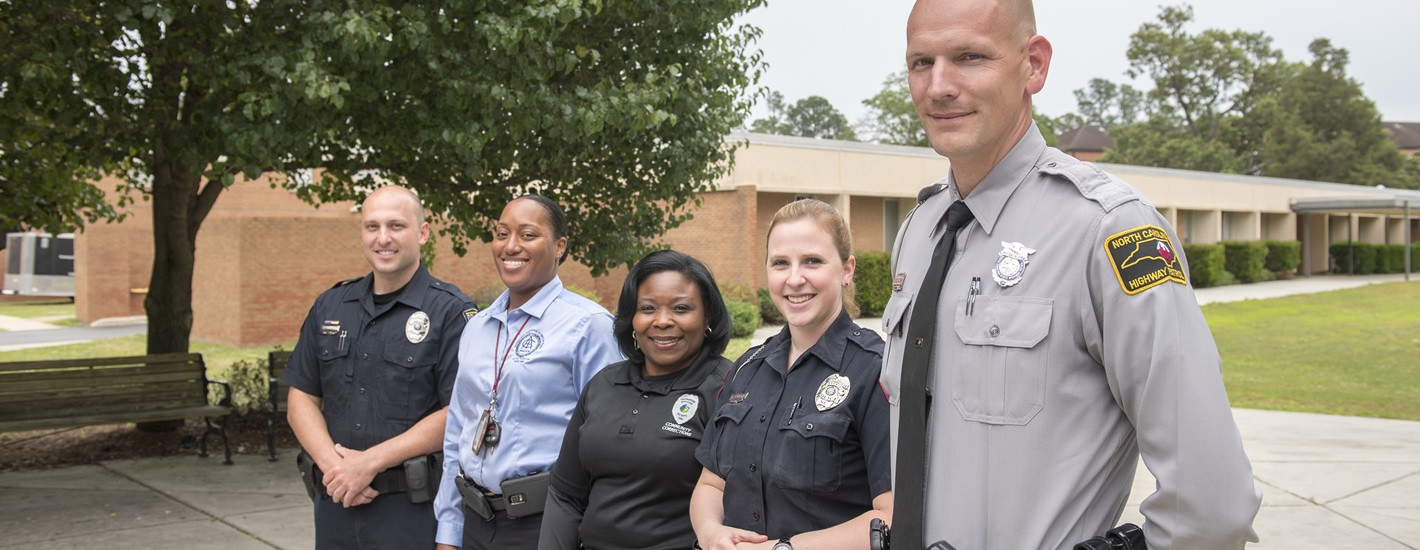 Law enforcement professionals enrolled in the MU Master of Justice Administration program