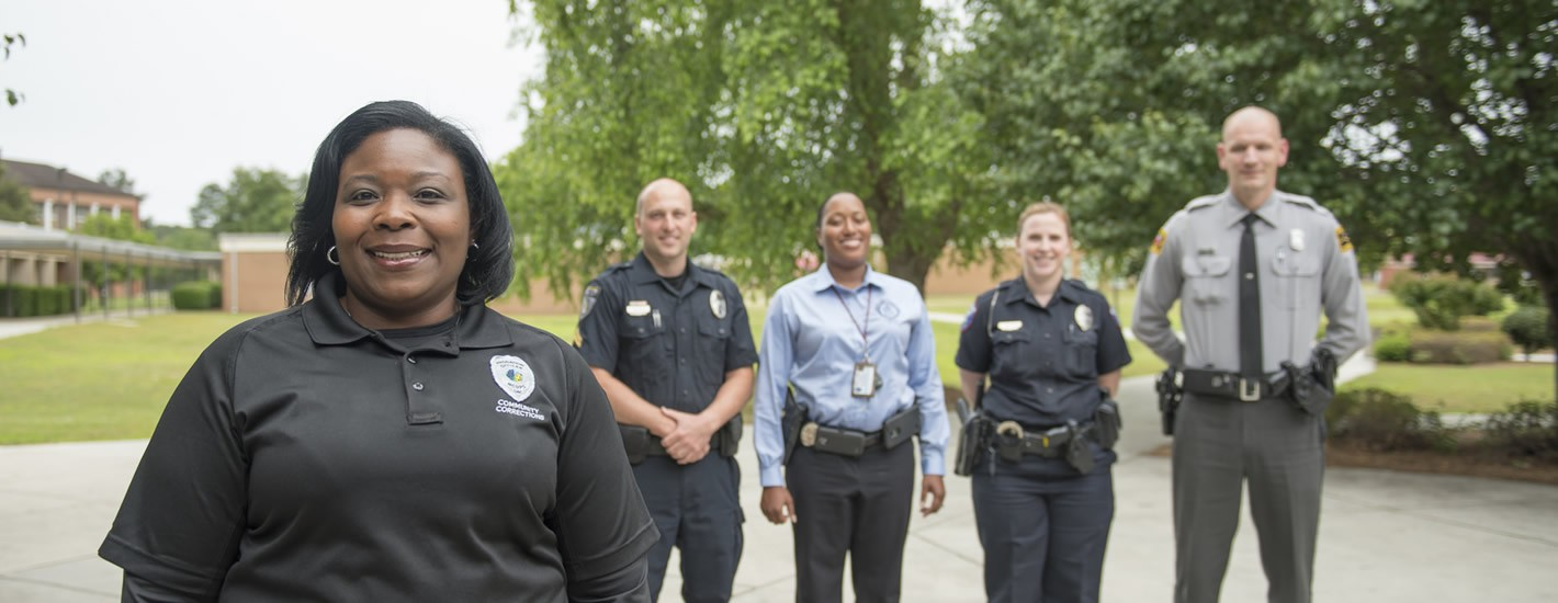 The Justice Studies program helps prepare students for careers in law enforcement.