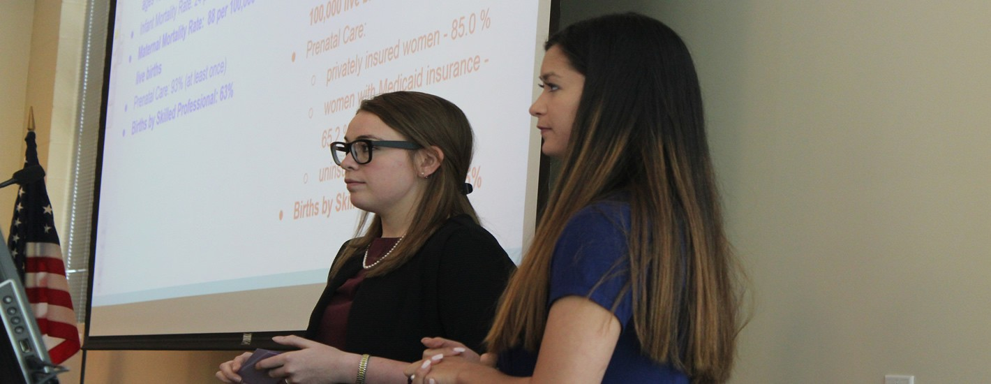 Students present at the annual Research Symposium