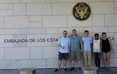 Political Science Students visit the Dominican Republic