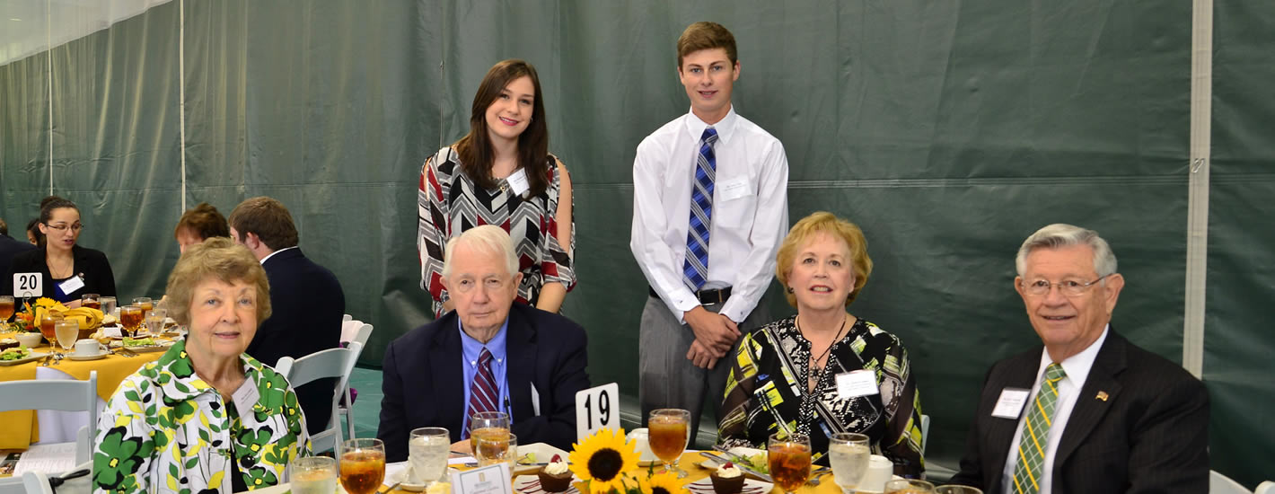 Scholarship Donors and Recipients at the Endowed Scholarship Luncheon
