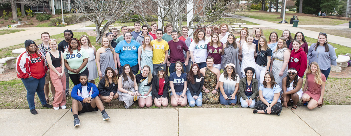 MU Fraternity & Sorority members