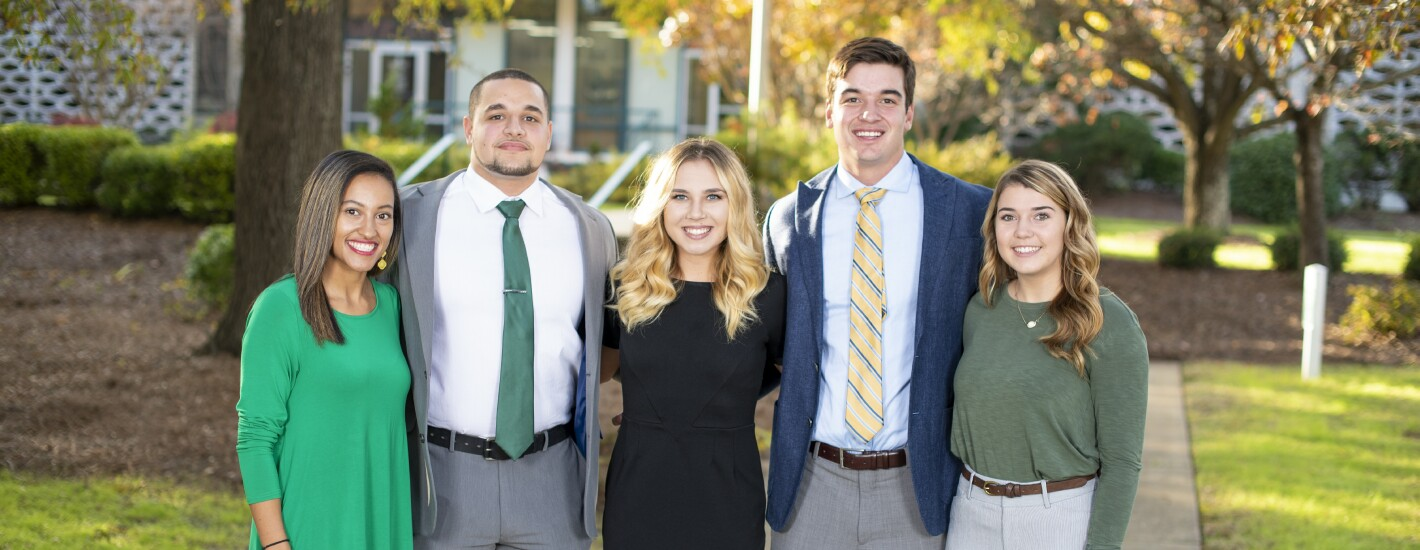 Scholarship Recipients who benefit from the Loyalty Campaign