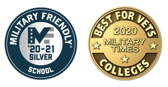 Military Friendly Silver School (2020-21) & Best for Vets Colleges 2020