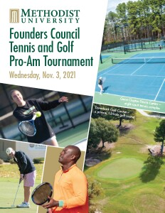 Founders Council Tennis and Gold Pro-Am tournament 2021